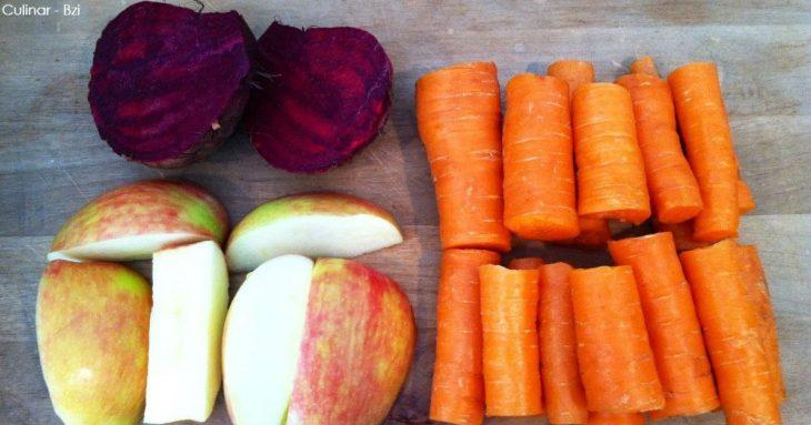 1 яблоко, 1 свекла, 2 моркови. Рецепт от лучшего диетолога в мире
